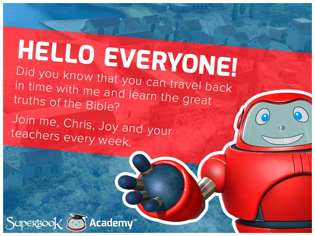 Superbook Academy Get Ready Slide