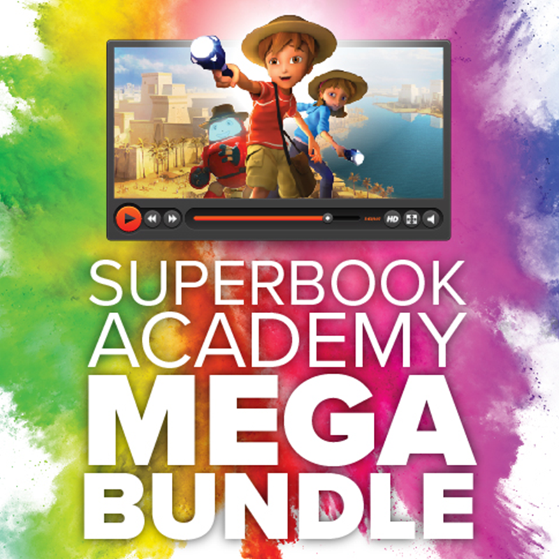 Superbook Academy – Sunday School Lessons and Bible Crafts